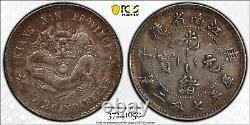1900 China Kiangnan Silver 10 Cents, PCGS XF Detail, Toned