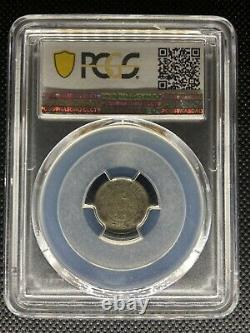 1903-08 China Fukien 3.6 Candareens 5 Cents Silver Coin Lm-294 Pcgs Vf-30