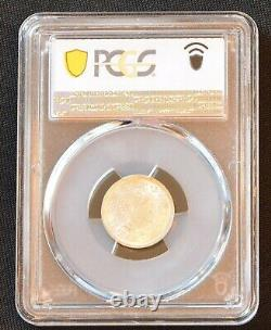 1911 China Kiangnan Silver 10 Cent Dragon Coin PCGS L&M-268 Y-146 MS 64