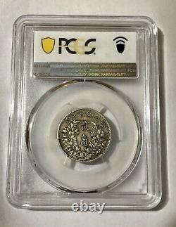 1914 China, Republic, 0.2 Dollar /20 Cents, Yuan Shih-kai, Silver Coin, PCGS XF40