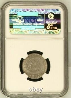 1931 China Fukien Silver Coin 20Cents NGC MS 63