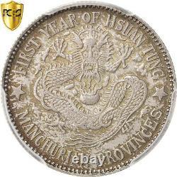 #32144 China, Manchuria, 20 Cents, 1910, KM213, PCGS MS63