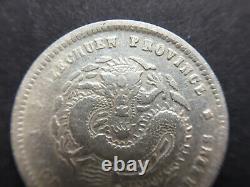 China 1898 SzeChuan Silver Coin 20 Cents LM-349