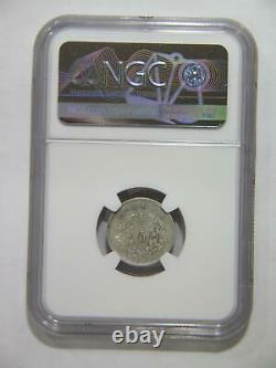 China 1914 10 Cents Y-326 Lm-66 Ngc Au55 Yuan Shi Kai Silver World Coin