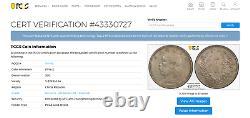 China 1914 50 Cents Y-328 Lm-64 Pcgs Au-details Yuan Shi Kai Silver Coin