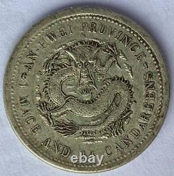 China An-Hwei (1898) Y-43.4 LM-201 ASTC Silver 20 Cents