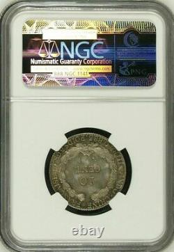 France Indo-china, Silver 20 Cents 1901 A Ngc Ms 64, Raren