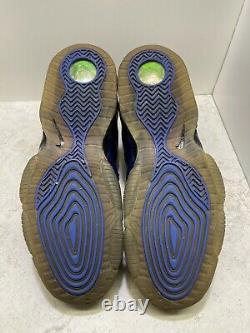 Nike Air Foamposite Half 1/2 Cent Varsity Royal Blue Sz 12 (344646-401) RARE