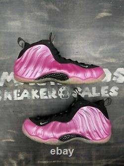 Nike Air Foamposite One Pearlized Pink 2012 Size 12 314996-600 Pink Black White