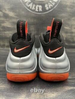 Nike Air Foamposite Pro Crimson Platinum Silver Red Black OG 624041-016 Size 8
