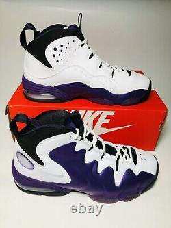 Nike Air Penny 3 III BasketBall Shoes Eggplant 2020 White Black NEW CT2809-500