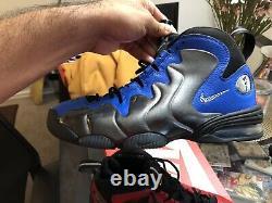 Nike Air Penny III QS Black/Metallic Silver/University Red CU8058-001 Men's Size