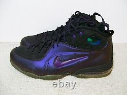 SZ 13 Nike 1/2 Cent Eggplant Air Foamposite One 344646-500 Pro Penny 1 Flight 3