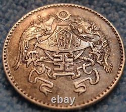 Scarce China 1926 Republic 20 Cents (2 Chiao) Y-335 LM-82 High Grade