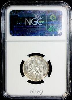 YR15 1926 China Silver Coin 20 Cents Republic Dragon & Phoenix NGC MS65